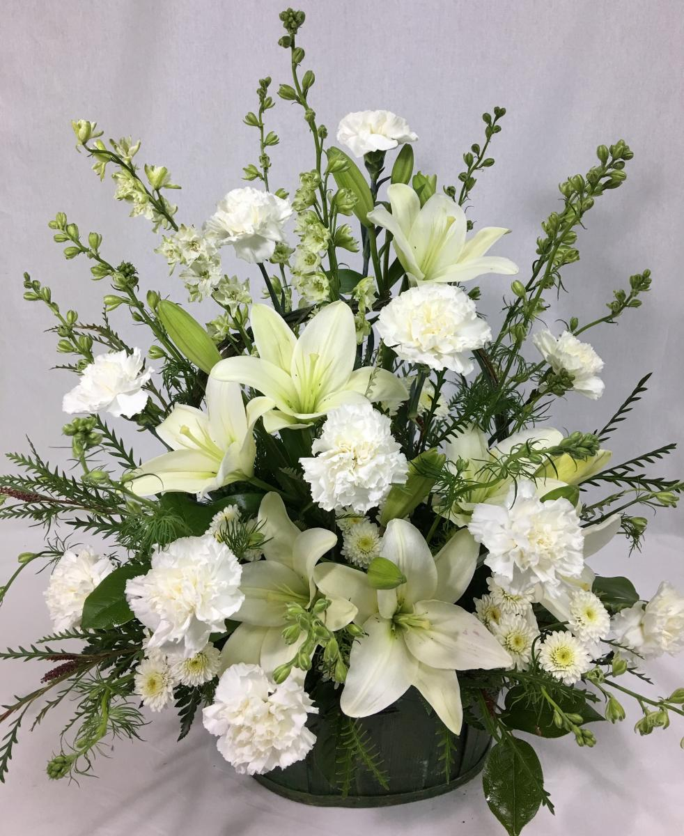 Guidelines for sympathy orders lilygrass when deciding on flowers for funeral services you should keep in mind a few things such as the personality of the deceased and what might be well received izmirmasajfo