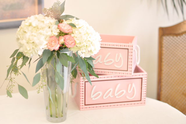 Baby shower florals lilygrass