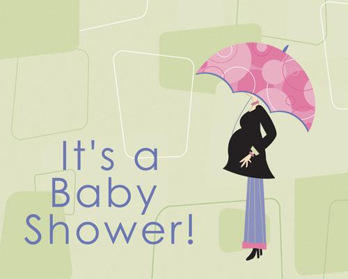 Baby Shower Florals Lilygrass