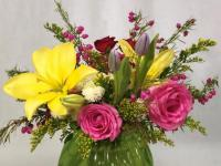 Fun and festive spring bouquets
