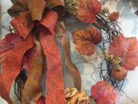 Artificial floral arrangements for fall