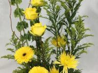 Flower spotlight: Goldenrod (Yellow Solidago)
