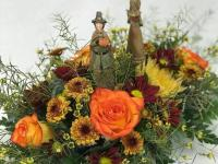 Make a statement with a Thanksgiving centerpiece
