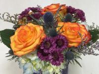 Flower spotlight: blue thistle
