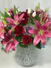 Valentine's Day fresh flowers