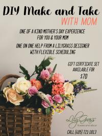 DIY make and take with Mom