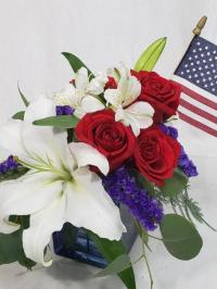 4th of July fresh Flowers