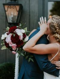 sneaky newlywed