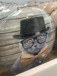 cat movie star compact mirror