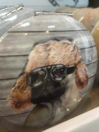 dog movie star compact mirror
