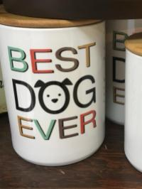 Dog and Cat Canisters