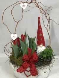 tulip and english ivy