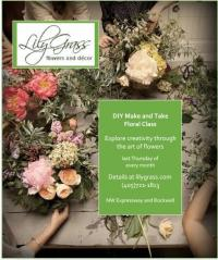 """DIY Make and Take"" floral class"